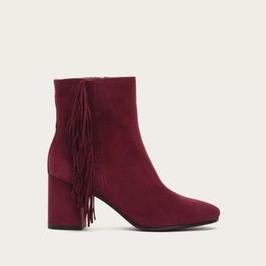 Shoes - Frye Jodi suede boot in Bordeaux